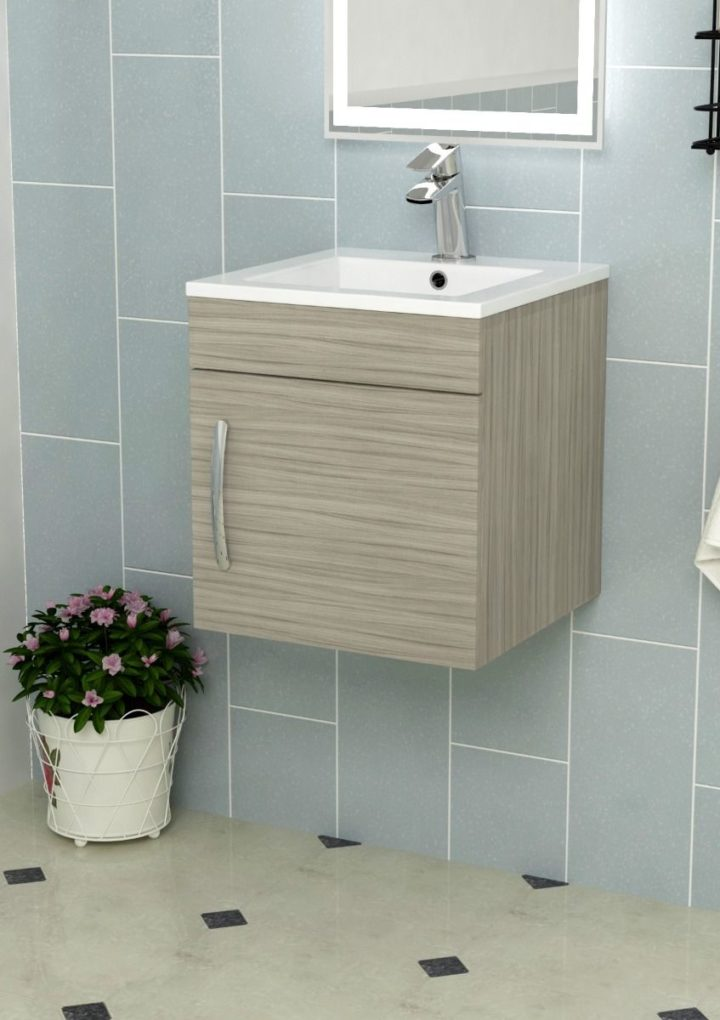 Take a deep consideration for your wall hung vanity unit in the bathroom