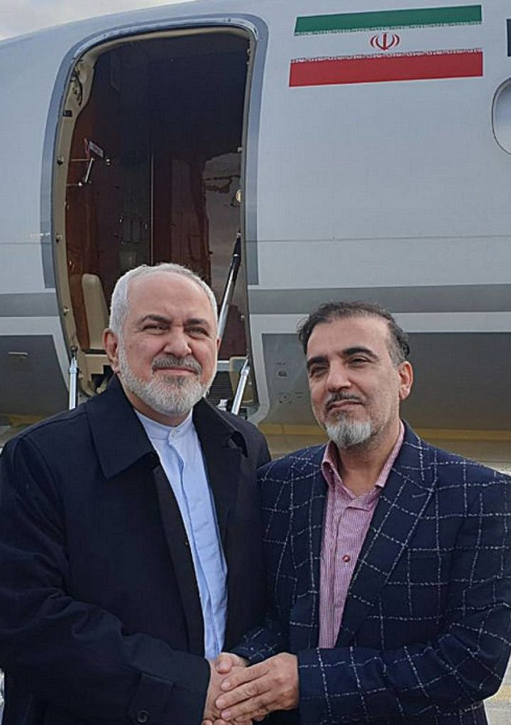 An American and an Iranian released in a prisoner exchange