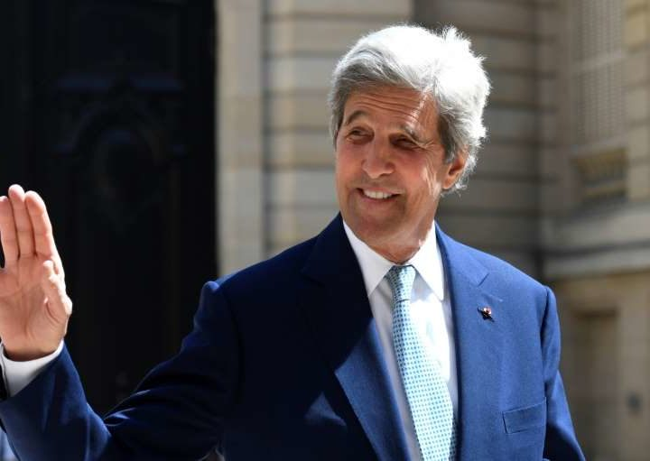 Former US Secretary of State Kerry supports Biden for the presidency